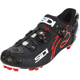 Sidi Drako Carbon SRS Shoes Men Matt Black/Red